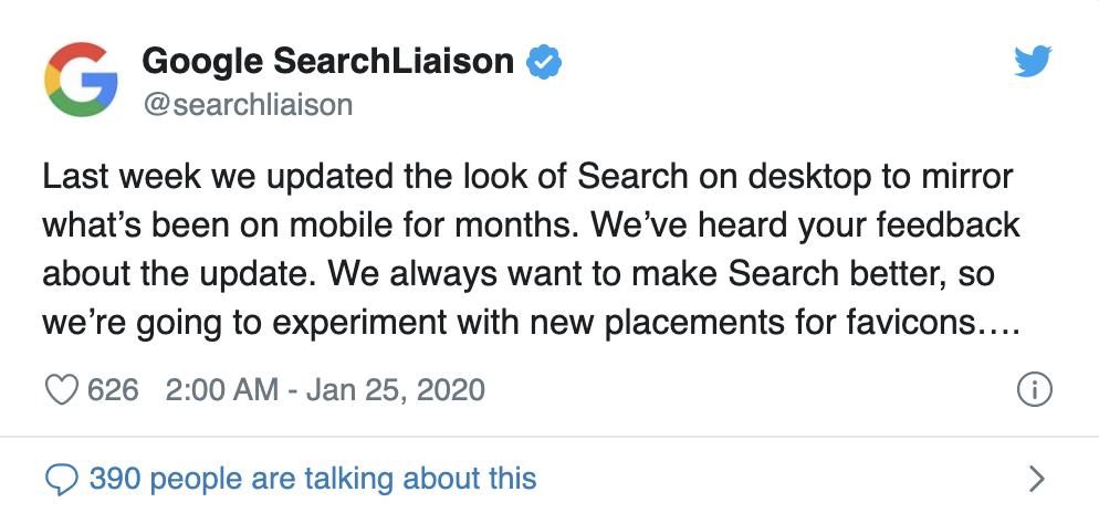 Google 桌面搜索结果的外观调整